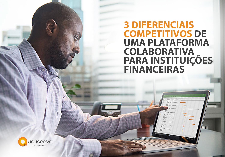 Profissional do setor financeiro analisando dados via ferramenta do Microsoft 365